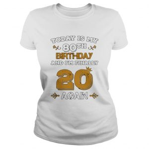 15857961112020 Leap Year Birthday 80 Years Old Leapling  Classic Ladies