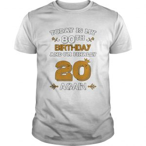 15857961112020 Leap Year Birthday 80 Years Old Leapling  Unisex
