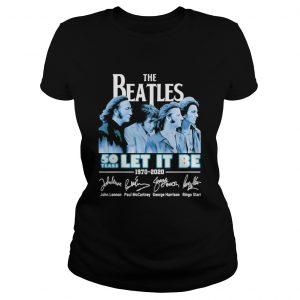 1588166000The Beatles 50 years let it be 1970-2020 signature  Classic Ladies