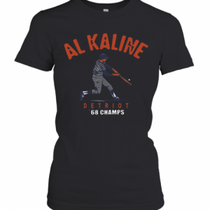 ALKALINE 1968 World Champs Detroit Tigers T-Shirt Classic Women's T-shirt