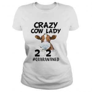 Crazy cow lady mask 2020 toilet paper quarantined  Classic Ladies