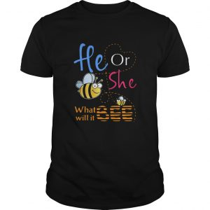 He Or She What Will It Bee  Unisex