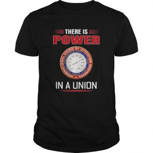 International union of operating engineers there is power in a union  Unisex