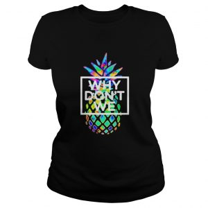 Official Why We Dont Merchandise Psych Pineapple Shirt Classic Ladies