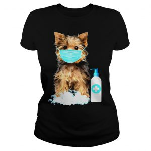 Yorkshire Terrier Lover Face Mask Shirt Classic Ladies