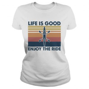 1590123832Rowing life is good enjoy the ride vintage  Classic Ladies