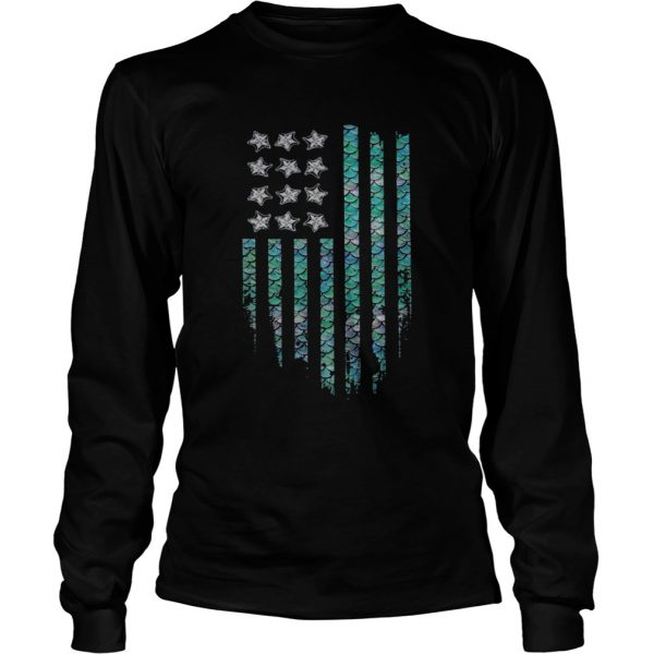 American Mermaid  Long Sleeve