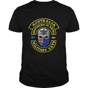 Ausstralia Brothers In Arms Military Vets Mug  Unisex