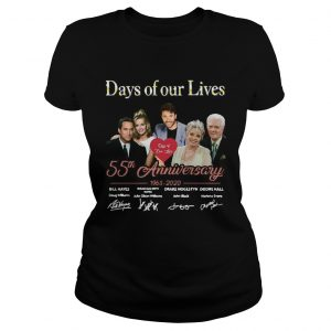 Days of our lives 55th anniversary 1965 2020 signatures  Classic Ladies