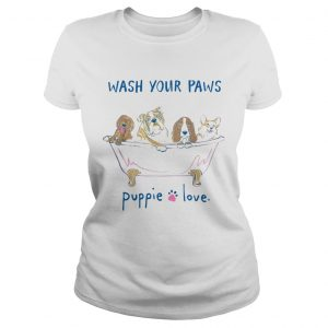 Puppie love youth logo pup help rescue dogs  Classic Ladies