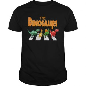 The dinosaurs abbey road  Unisex