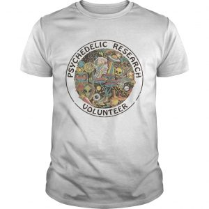 Psychedelic Research Volunteer Ringer  Unisex