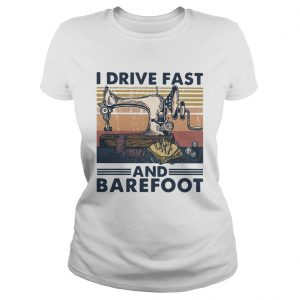 Sewing I Drive Fast And Barefoot Vintage  Classic Ladies