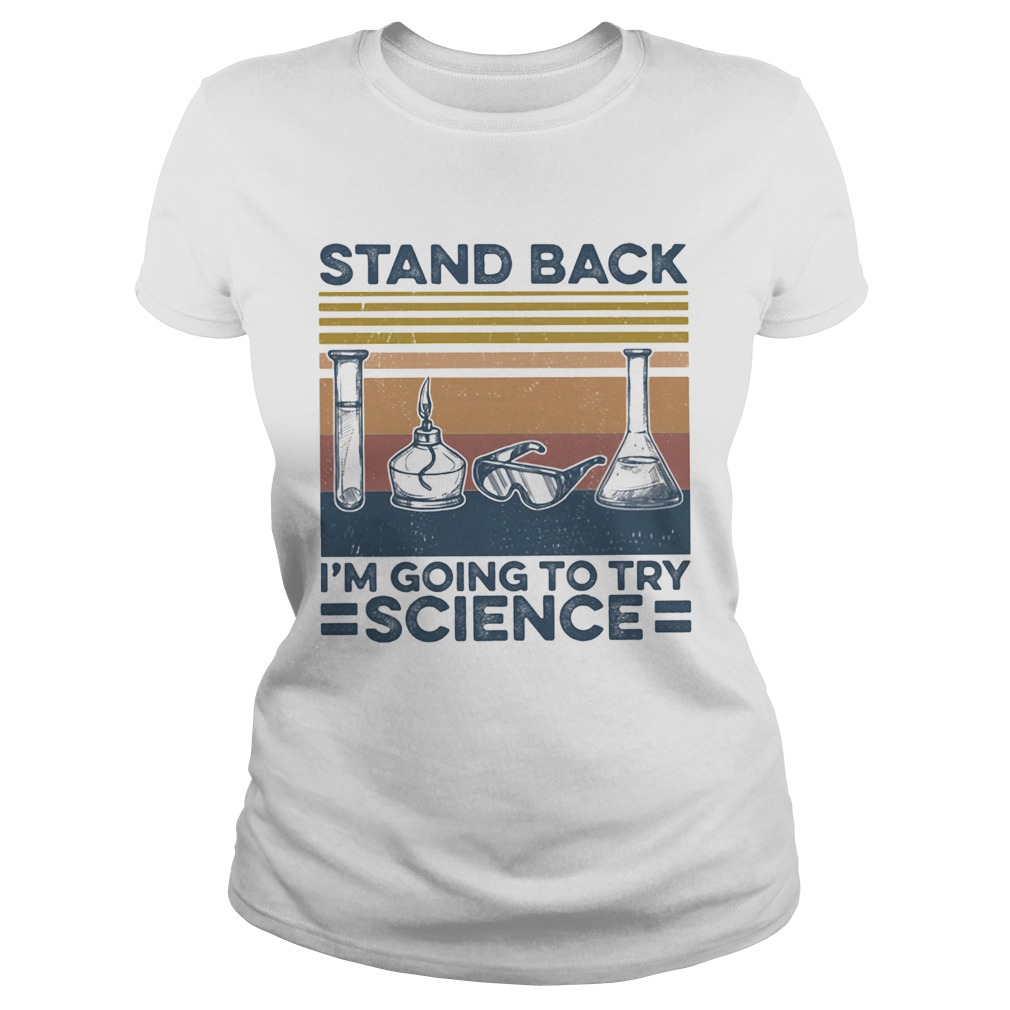 Stand back im going to try science vintage retro  Classic Ladies
