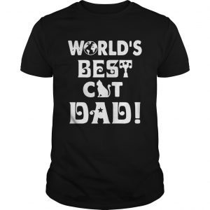 Worlds Best Cat Dad  Unisex