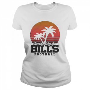 Beautiful day for bills football vintage retro  Classic Women's T-shirt