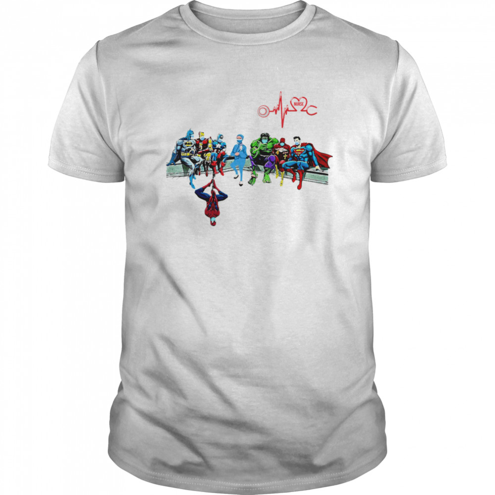 Doctor And Superheroes Nurse Healthcare Worker 2020 Classic Men's T-shirt