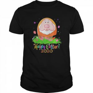 Dopey orange happy easter 2020 flowers  Classic Men's T-shirt