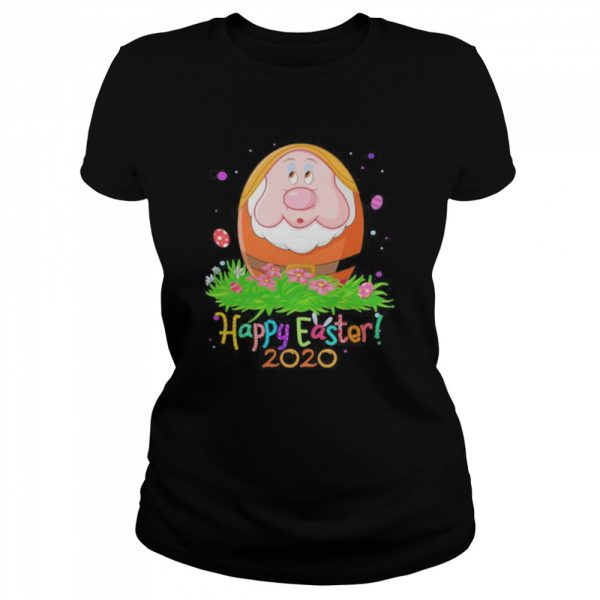 Dopey orange happy easter 2020 flowers  Classic Women's T-shirt
