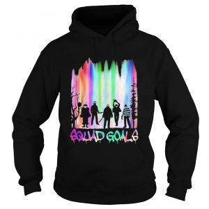 Halloween horror characters squad goals mountain  Hoodie