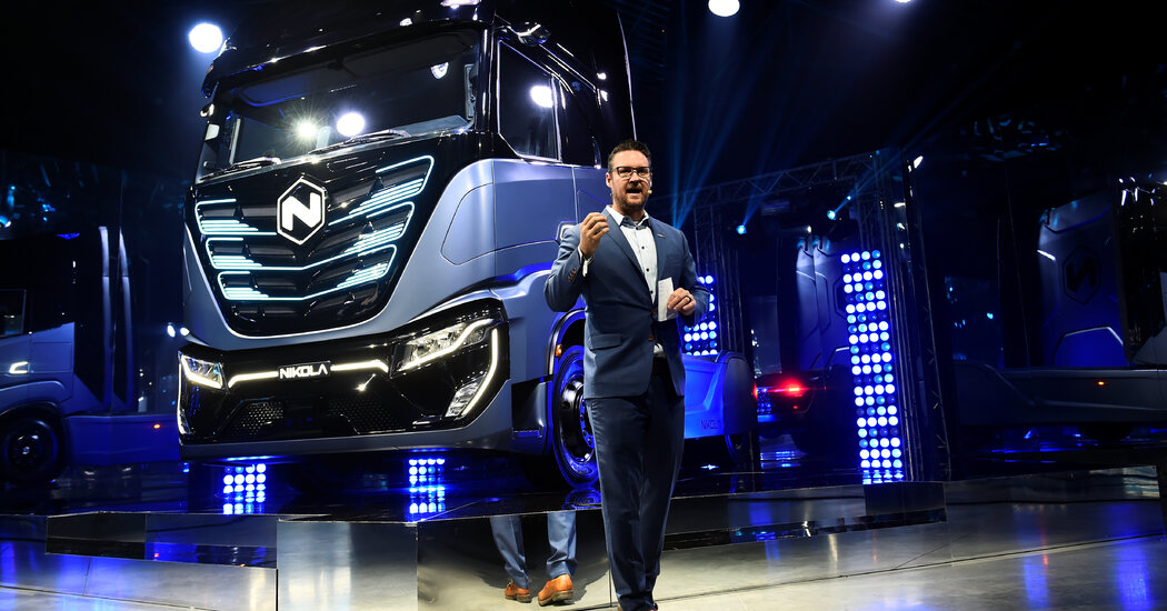 Head of Nikola a G.M. Electric Truck Partner Quits Amid Fraud Claims