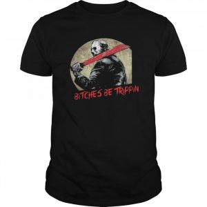 Jason Voorhees Bitches Be Trippin Halloween  Classic Men's T-shirt