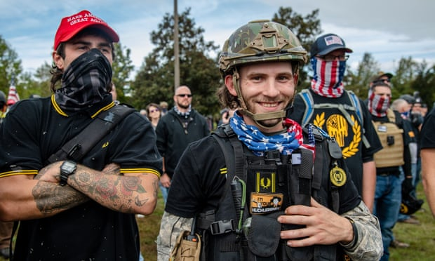 Fred Perry withdraws polo shirt adopted by far-right Proud Boys