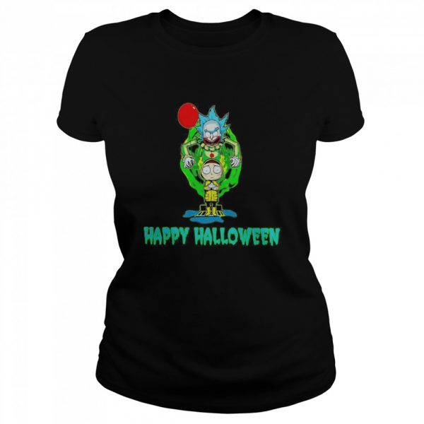 Rick and Morty Happy Halloween  Classic Women's T-shirt