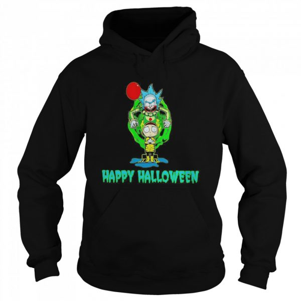 Rick and Morty Happy Halloween  Unisex Hoodie