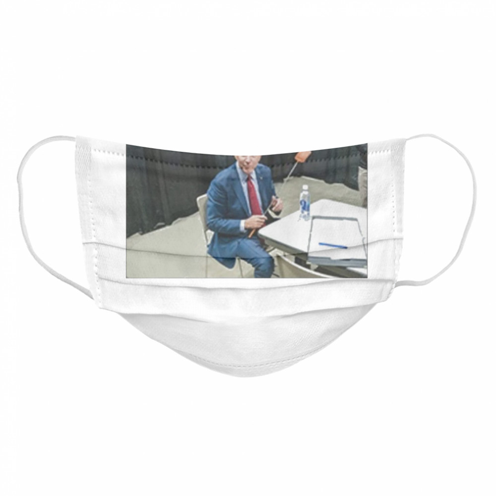 Joe Biden With The Fly  Cloth Face Mask