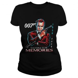 007 Sean Connery 1930 2020 Thank You For The Memories Signature  Classic Ladies