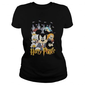 Mickey Mouse And Friends Harry Potter Halloween  Classic Ladies
