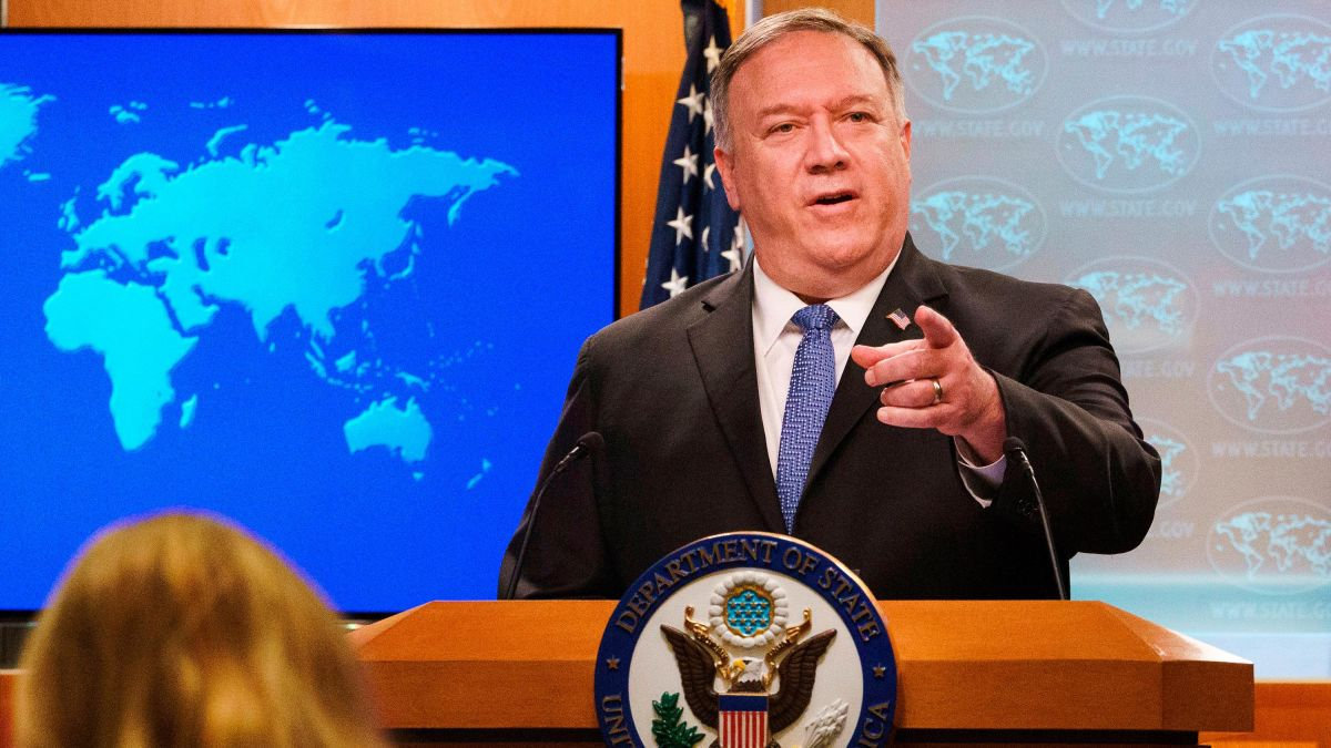Pompeo refuses to acknowledge Biden has won election, sparking furor and 'disgust' among diplomats
