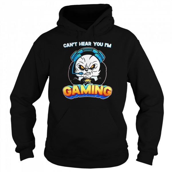 Can't Hear You I'm Gaming Gamer  Unisex Hoodie
