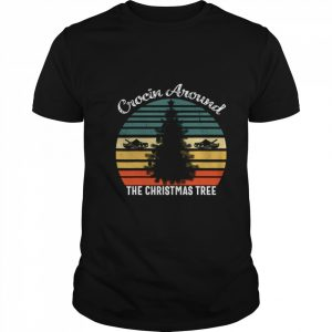 Crocin Around The Christmas Tree Xmas Vintage  Classic Men's T-shirt