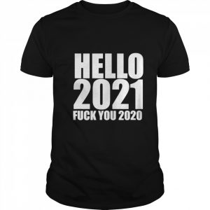 HELLO 2021 GOODBYE 2020  Classic Men's T-shirt