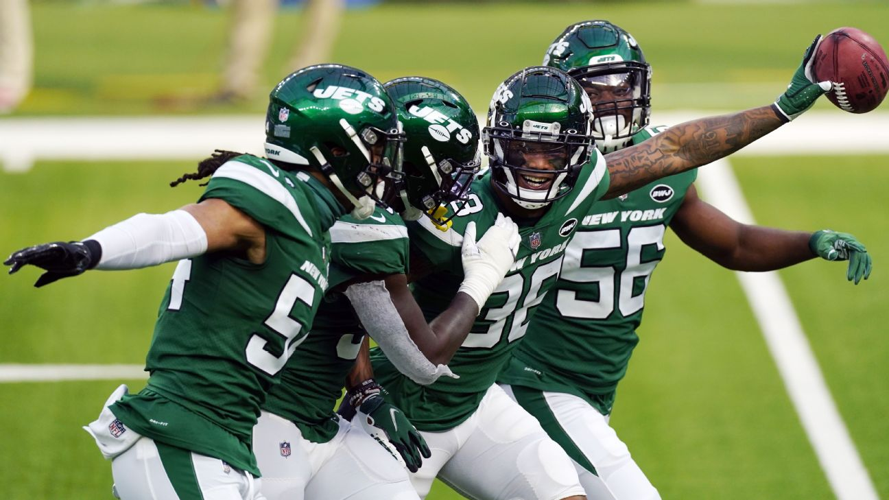 New York Jets (1-13) beat Los Angeles Rams, but no longer front-runners for No. 1 pick