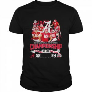 2021 College Football Playoff National Championship Alabama Win Ohio State  Classic Men's T-shirt
