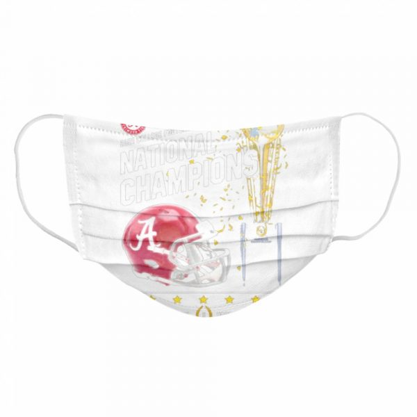 2021 College Football Playoff National Championship Victory  Cloth Face Mask