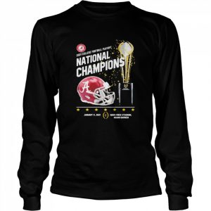 2021 College Football Playoff National Championship Victory  Long Sleeved T-shirt