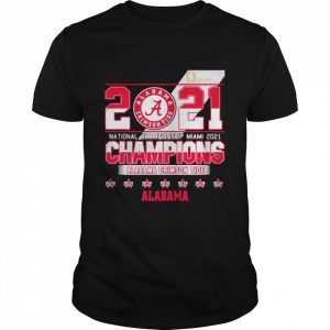 2021 National Championship Miami Alabama Crimson Tide  Classic Men's T-shirt