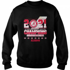 2021 National Championship Miami Alabama Crimson Tide  Unisex Sweatshirt