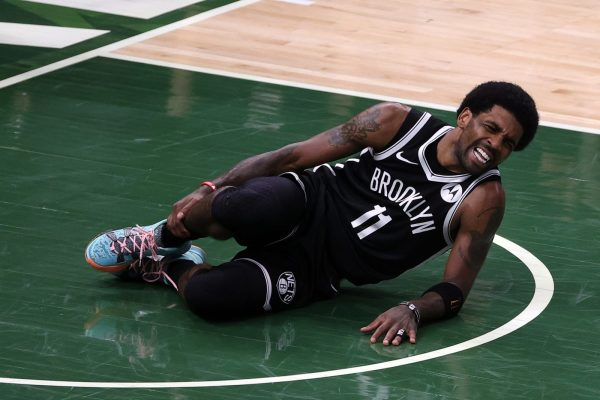 Nets Kyrie Irving ruled out of Game 4 vs Bucks due to ankle sprain