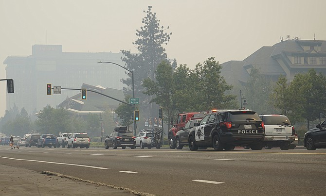 Caldor Fire forces thousands to flee; U.S. 50 westbound closed